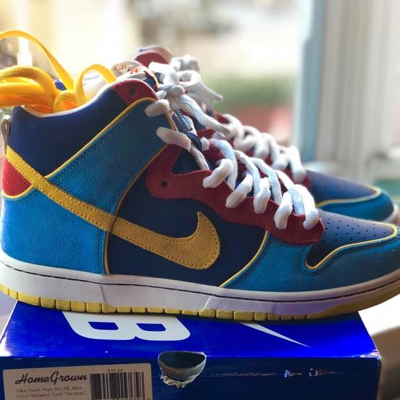 Nike Shoes | Nike Sb Dunk High Pacman